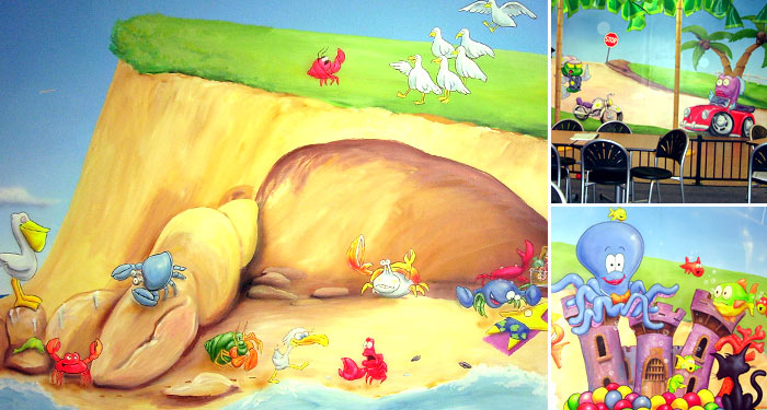 Play Centre Wall Mural.