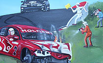 Wall Mural - Holden Car.